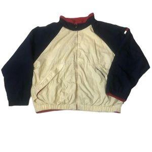 90's Tommy Hilfiger Mens Reversible Zip Jacket XXL